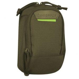 """Propper Tasche für kleine Elektrogeräte mit zwei Fächern MOLLE-kompatibel 7 x 4"""" Olivgrün"""