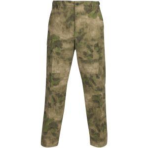 Propper BDU Hose mit Knopfverschluss aus Baumwoll-Polyester-Ripstop A-TACS FG