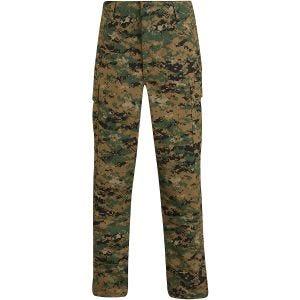 Propper Uniform BDU-Hose aus Baumwoll-Polyester-Ripstop Digital Woodland