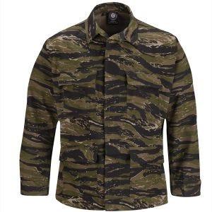 Propper Uniform BDU-Jacke aus Baumwoll-Polyester-Ripstop Asian Tiger Stripe