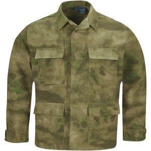 Propper BDU Jacke aus Baumwoll-Polyester-Ripstop A-TACS FG