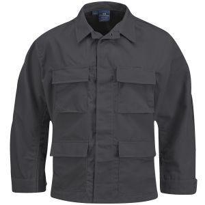 Propper BDU Jacke aus Baumwoll-Polyester-Ripstop Dunkelgrau