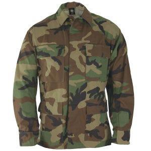 Propper Uniform BDU-Jacke aus Baumwoll-Polyester-Ripstop Woodland