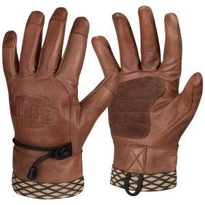 Helikon Woodcrafter Handschuhe U.S. Brown