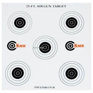 SMK 25ft 17 cm Papp-Zielscheiben (100 Stück)