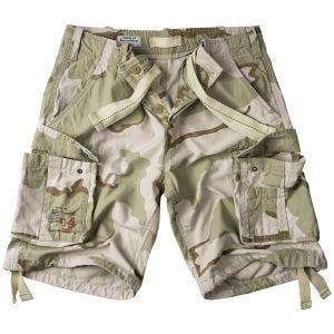 Surplus Airborne Shorts im Vintage-Stil 3-Colour Desert