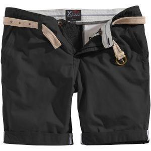 Surplus Chino Shorts Schwarz