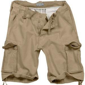 Surplus Vintage Shorts Ausgewaschenes Beige