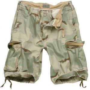 Surplus Vintage Shorts Ausgewaschenes Desert 3 Farben