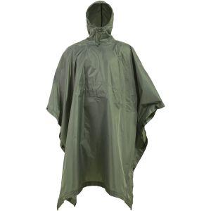 TAC MAVEN Thunder Regenponcho Olivgrün