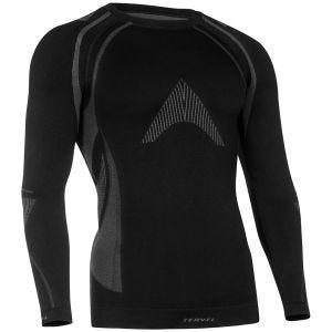 Tervel Optiline MOD-02 Langarm-Shirt Schwarz/Grau