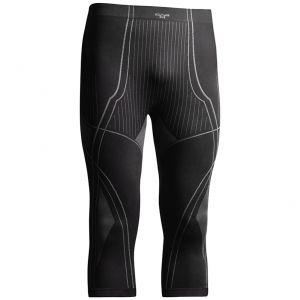 Tervel Optiline Lange Unterhose mit 3/4-Beinen Schwarz