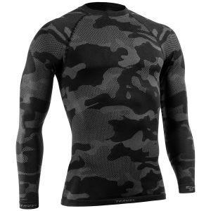 Tervel Optiline Light taktisches Langarm-Shirt Schwarz / Grau