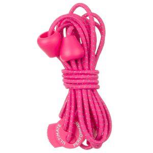 Ultimate Performance Reflektierende elastische Schnürsenkel Hot Pink