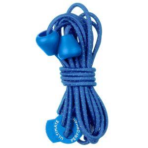 Ultimate Performance Reflektierende elastische Schnürsenkel Royal Blue
