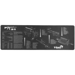 Viper Unterlage zur Waffenreinigung für AR15 Schwarz
