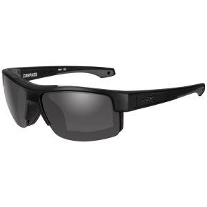 Wiley X WX Compass Brille - Gläser in Smoke Grey / Gestell in Mattschwarz