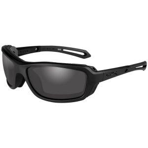 Wiley X WX Wave Brille - Gläser in Smoke Grey / Gestell in Mattschwarz