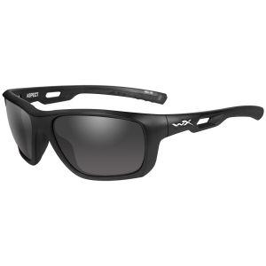 Wiley X WX Aspect Schutzbrille - Gläser in Smoke Grey / Gestell in Mattschwarz