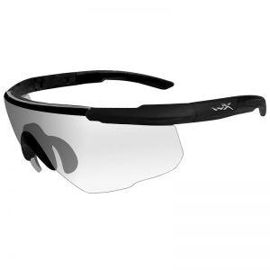 Wiley X Saber Advanced Schutzbrille - Glas in Transparent / Gestell in Mattschwarz