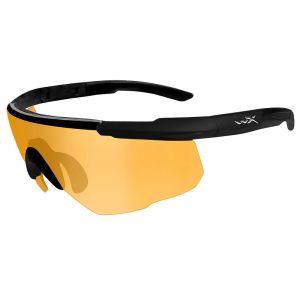Wiley X Saber Advanced Schutzbrille - Glas in Light Rust / Gestell in Mattschwarz
