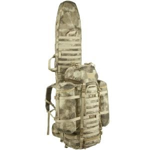 Wisport ShotPack 65L Rucksack mit Gewehrtasche A-TACS AU