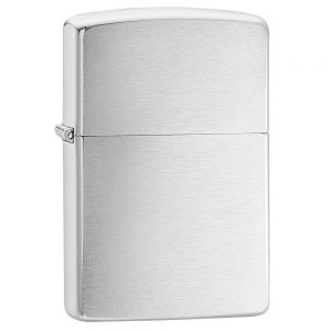 Zippo Brushed Chrome Regular Feuerzeug