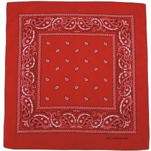 MFH Bandana aus Baumwolle Rot