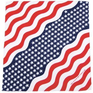 MFH Bandana aus Baumwolle Stars and Stripes