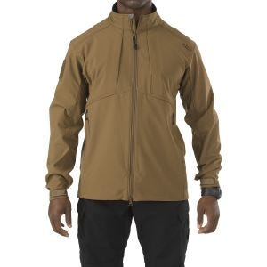 5.11 Sierra Softshell-Jacke Battle Brown