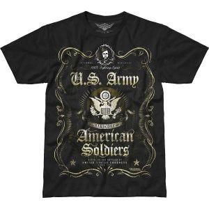 7.62 Design Army Fighting Spirit Battlespace T-Shirt Schwarz