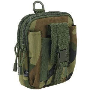 Brandit Functional MOLLE Pouch Woodland