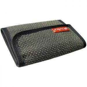 Civilian 3-fach faltbare taktische Clip-Geldbörse aus Kevlar-Faser Grayish Bi-Weave