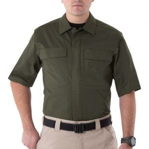 First Tactical Men's V2 Short Sleeve BDU Shirt OD Green