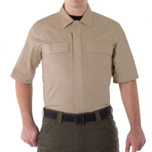First Tactical Men's V2 Short Sleeve BDU Shirt Khaki