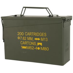 Mil-Tec US Ammo Box M19A1 Cal,30 Munitionskiste Oliv