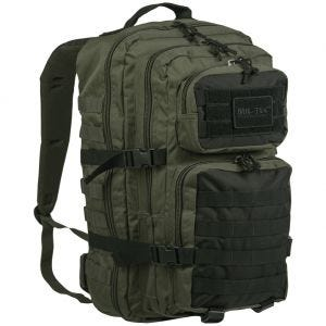 Mil-Tec US Assault Pack Einsatzrucksack Groß Ranger Green/Schwarz
