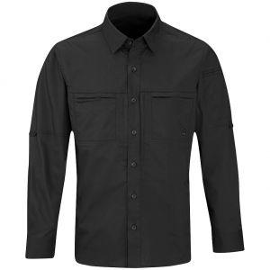 Propper Men's HLX Shirt Long Sleeve Black