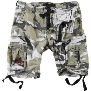 Surplus Airborne Shorts im Vintage-Stil Ausgewaschenes Urban