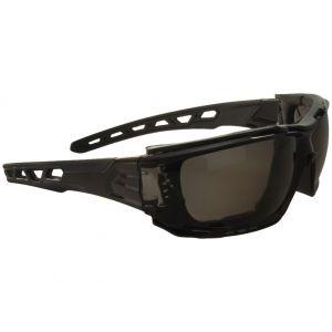 Swiss Eye Net Sonnenbrille mit Gestell in Schwarz / Gläser in Smoke