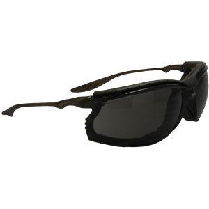 Swiss Eye Sandstorm Sonnenbrille mit Gestell in Schwarz / Gläser in Smoke