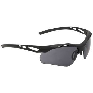 Swiss Eye Attac Sunglasses - Smoke + Orange + Clear Lens / Rubber Black Frame