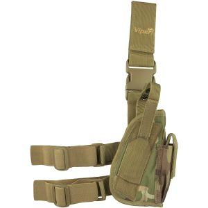 Viper Tactical Rechtshänder-Beinholster V-Cam