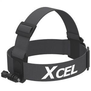Xcel Stirnband-Befestigung für Action-Cam Schwarz