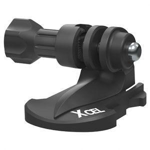 Xcel Halterung mit Schnellklemme für Action-Cams Schwarz