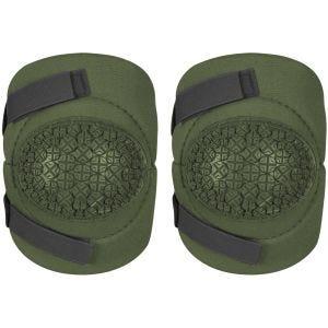 Alta Industries AltaFLEX 360 Ellbogenschützer mit Vibram-Kappen und AltaGRIP-Klettverschluss Olive Green