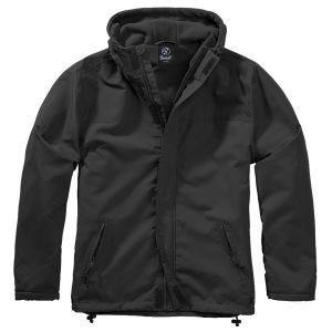 Brandit Windbreaker Front Zip Black