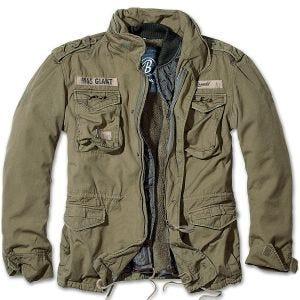 Brandit M-65 Giant Jacke Olivgrün