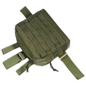 Flyye Drop Leg Beinholster-Tasche für Zubehör MOLLE-Befestigungssystem Ranger Green