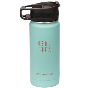 Earthwell Roaster Vakuum-Trinkflasche mit Befestigungsvorrichtung 473 ml Aqua Blue